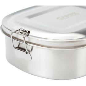 CAMPZ Pudełko śniadaniowe ze stali nierdzewnej S 700ml, silver